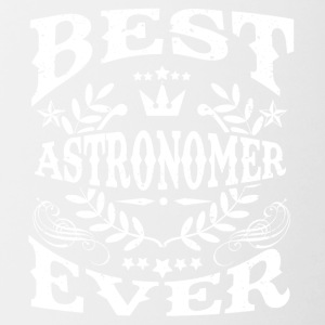 BEST astronoom DENS IS! - Mok tweekleurig