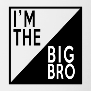 BIG BROTHER - Tasse zweifarbig