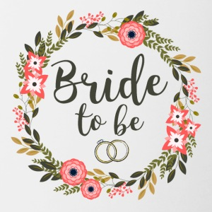 Bride to be - Tasse bicolore