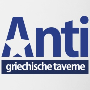 Anti StarLogo Blue version - Tvåfärgad mugg
