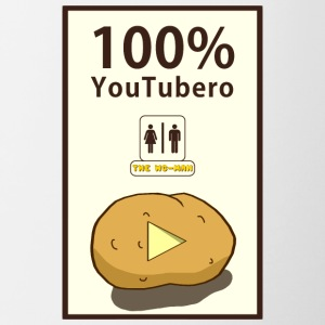 100% YouTubero WC-Man - Tofarvet krus