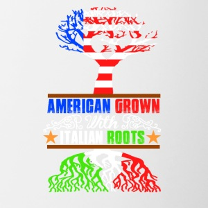 American Grown - Mok tweekleurig