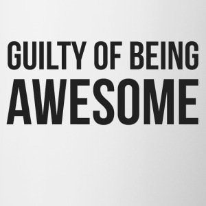 Guilty of being Awesome - Tvåfärgad mugg