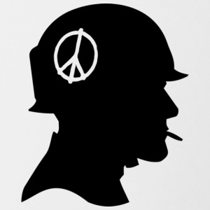 Peace soldier - Contrasting Mug