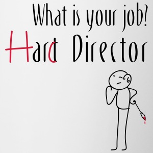 Hard Director - Mok tweekleurig