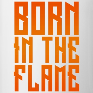 maglietta_born_in_the_flame - Tazze bicolor