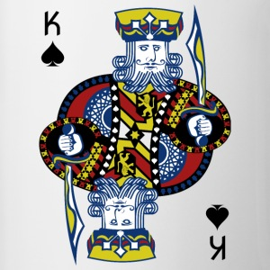 King of Spades Poker Hold'em - Kaksivärinen muki