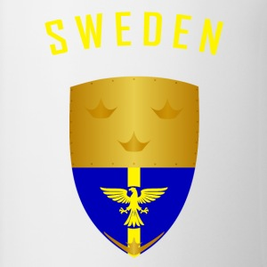 SWEDEN CROWNS SHIELD - Contrasting Mug