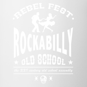 Rockabilly Fest - Mok tweekleurig