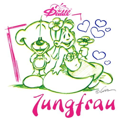 Diddl Sternzeichen Jungfrau Teddy Pimboli Von Diddl Spreadshirt