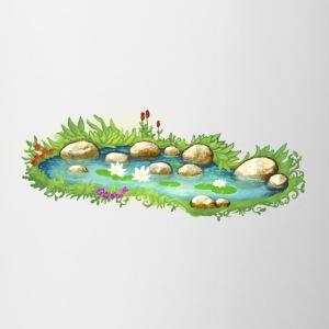 Ordina online tazze accessori con tema stagno spreadshirt for Piante da stagno