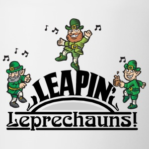 Irish Leaping Leprechauns - Tofarvet krus