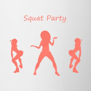 Squat party koral - Tofarvet krus