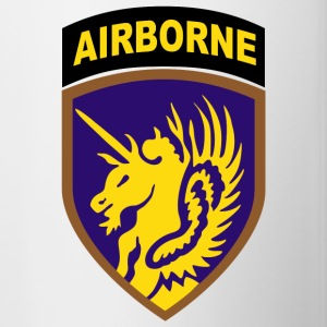 USA 13th Airborne Division - Kubek dwukolorowy
