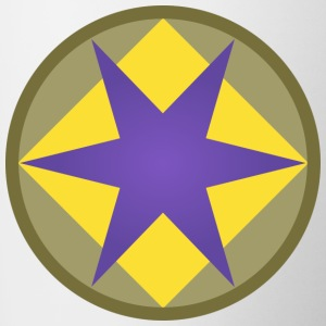 US 46th Infantry Division - Tasse bicolore