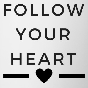 Follow your heart 2 - Contrasting Mug