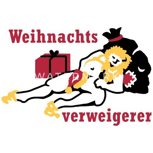 BIO Stoffbeutel Anti-Weihnachten von Yoma-Art | Spreadshirt
