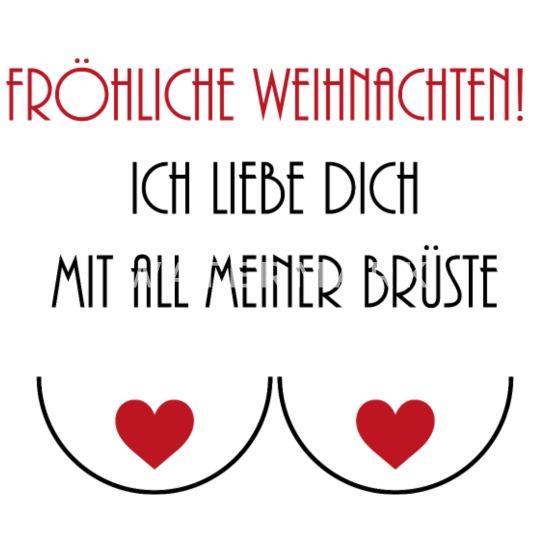 Frohe Weihnachten Ich Liebe Dich.Frohe Weihnachten Lustiges Geschenk Love Liebe Tasse Weiß