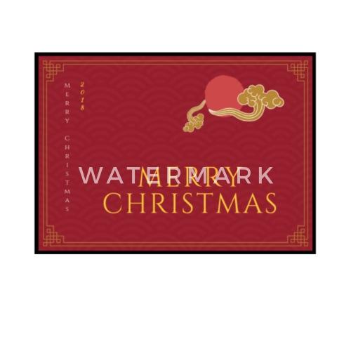 Frohe Weihnachten Englisch Rot Tasse Spreadshirt