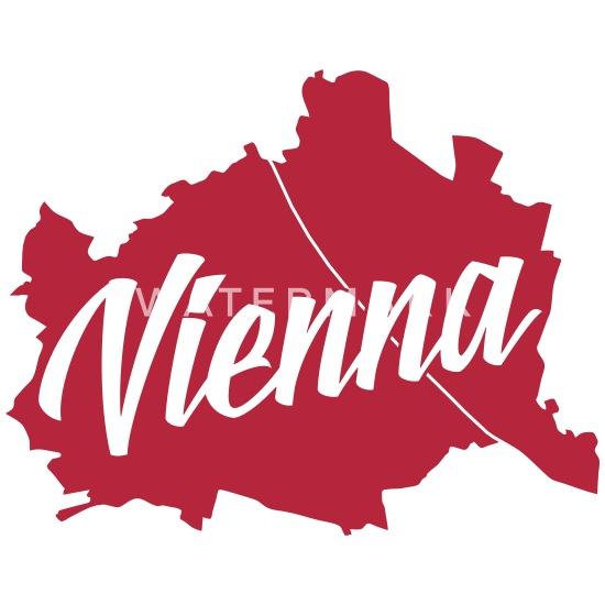 Vienna Wien Umriss Tasse | Spreadshirt