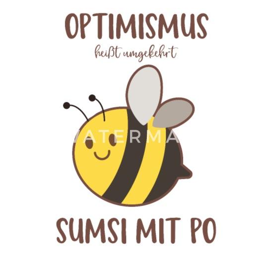 Mit umgekehrt po heißt sumsi optimismus 100% Organic