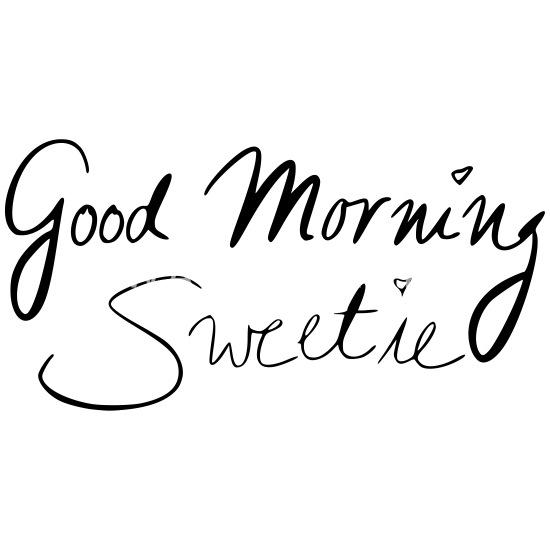 Good Morning Sweetie Mug Spreadshirt