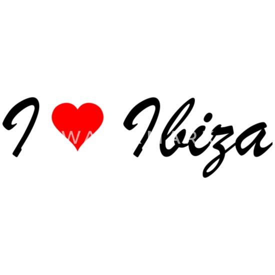 I Love Corazón Ibiza España Taza De Café De Regalo