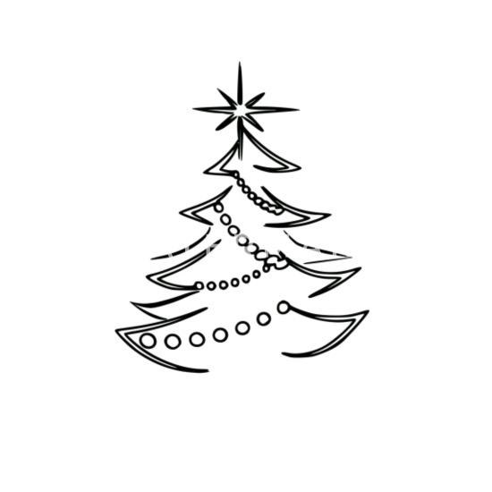 weihnachtsbaum schwarz wei tasse spreadshirt. Black Bedroom Furniture Sets. Home Design Ideas
