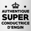 Conducteur d'engin / BTP / Travaux / Construction - Mug blanc