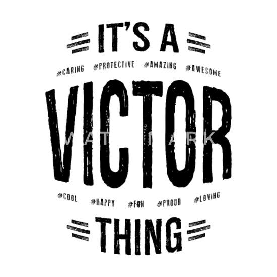 Victor personalisierte Namen Geburtstagsgeschenk Tasse