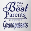 The Best Parents Get Promoted to Grandparents - Mug
