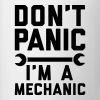 Don't panic i'm a mechanic - Tasse
