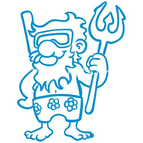Wassermann Sternzeichen sternzeichen wassermann mit dreizack von rastafisch | spreadshirt