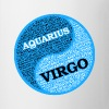 Aquarius Man and Virgo Woman Zodiac Sign Love Mug - Mug
