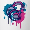 Headphones Graffiti Design - Mug