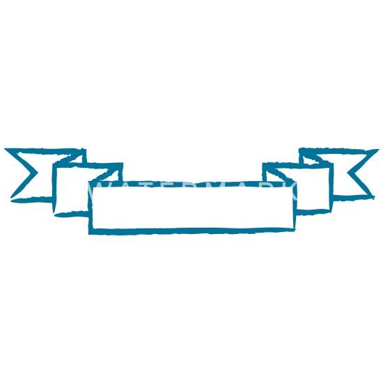 Personnalisation logo bannière sans texte bannière Mug blanc blanc