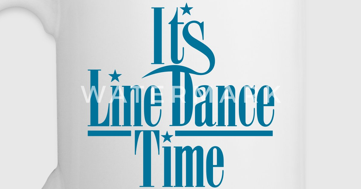 its line dance time von subgirl spreadshirt. Black Bedroom Furniture Sets. Home Design Ideas