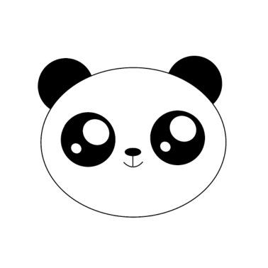 Pandacorn Tablier De Cuisine Blanc