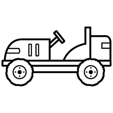 traktoren zum ausmalen - malvorlagen gratis