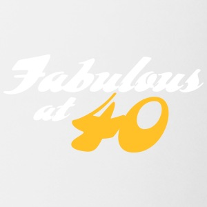 40 Years Old And Fabulous! - Mug