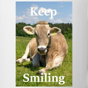 Keep Smiling - Cow