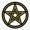 Pentagram amulet- Sign of intellectual omnipotence and autocracy. 2c, Star of the Magi , powerful symbol of protection - Men's Long Sleeve Baseball T-Shirt