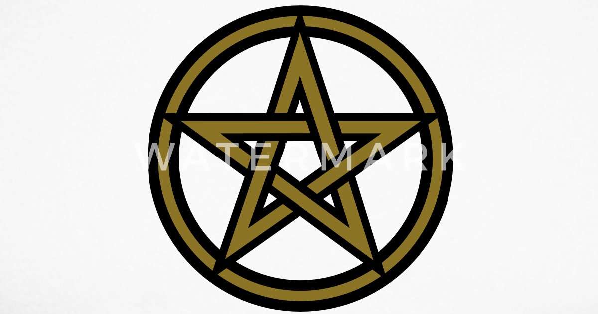 Pentagram Amulet Sign Of Intellectual Omnipotence And Autocracy 2c