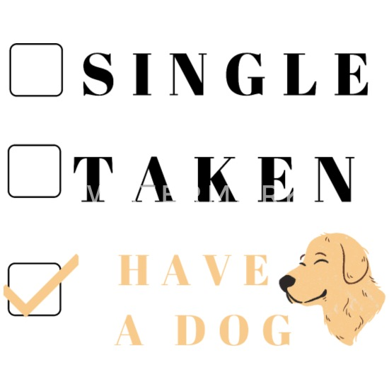 singlar med hund