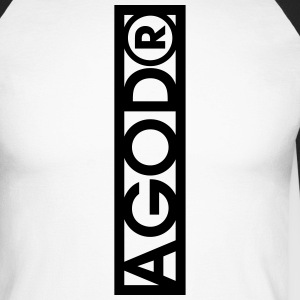 Agoda - T-shirt baseball manches longues Homme