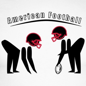 American Football - Men's Long Sleeve Baseball T-Shirt