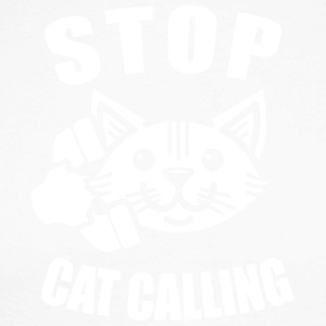stop cat calling - Men's Long Sleeve Baseball T-Shirt