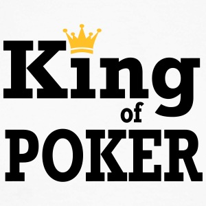 King of Poker - Langermet baseball-skjorte for menn