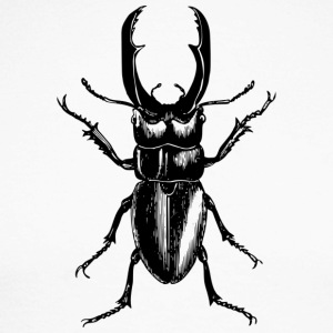 stag beetle - Men's Long Sleeve Baseball T-Shirt