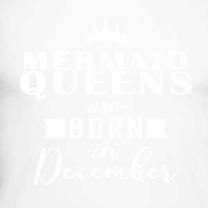 Mermaid Queens december - Mannen baseballshirt lange mouw